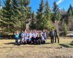 40 de voluntari ATOS au participat la acțiunea de ecologizare la Voroneț