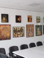 """Vernisajul expoziției """"Creație"""" a pictorului sucevean Nicolae Zepciuc"""