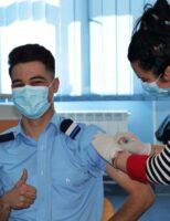 Imunizare în rândul elevilor militari ștefaniști