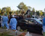 Icoana și racla cu moaștele Sfântului Mare Mucenic Ioan cel Nou purtate pe străzile municipiului Suceava
